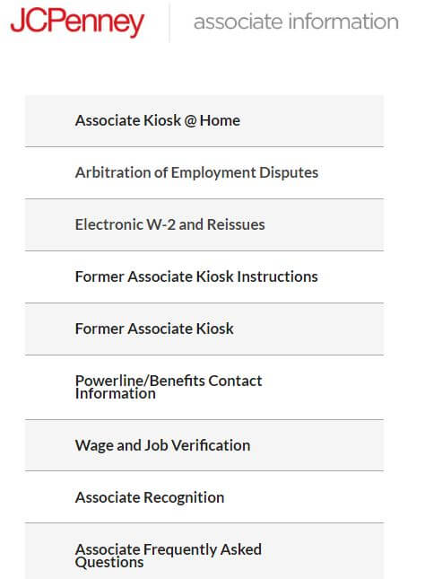 JCPenney-Associate-Kiosk-Login